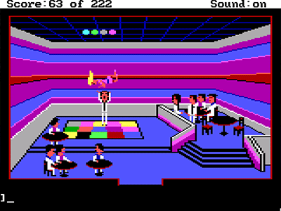 Leisure Suit Larry in the Land of the Lounge Lizards Disco