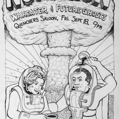 Nongon Poster: Quenchers 2009-09-18