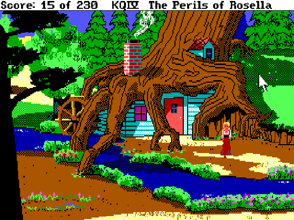 King's Quest IV Dos