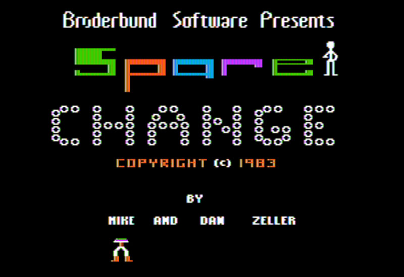 Spare Change - Title Screen