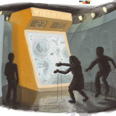 Booth Concept – Terminator