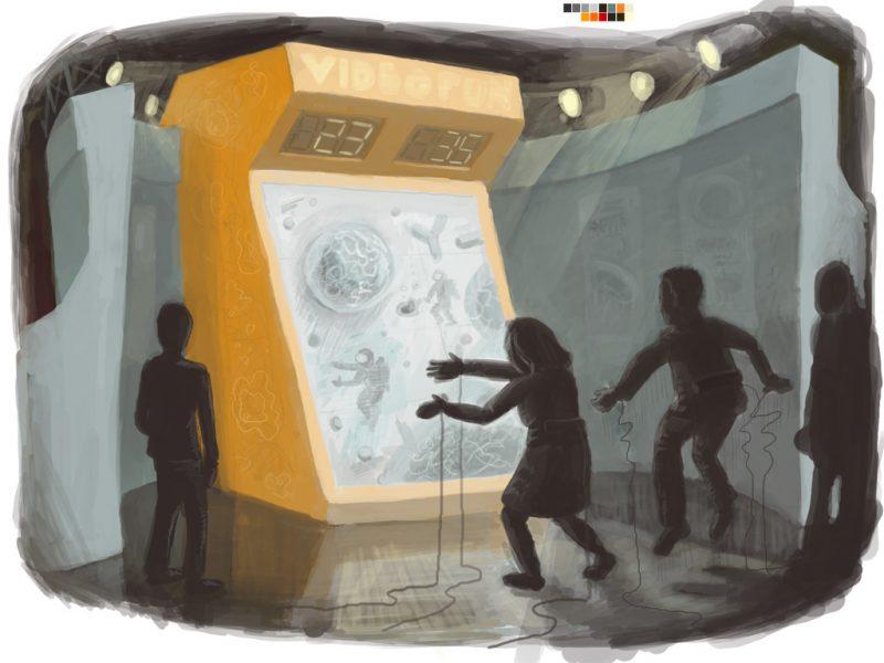Booth Concept - Terminator