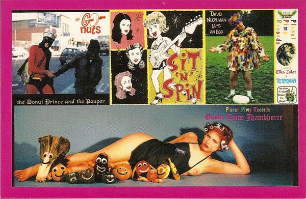 Planet Pimp Catalog Card