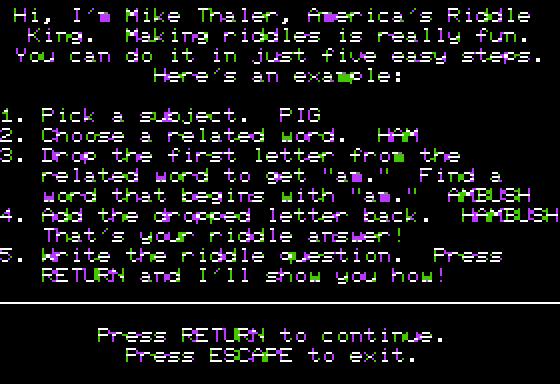 Riddle Magic