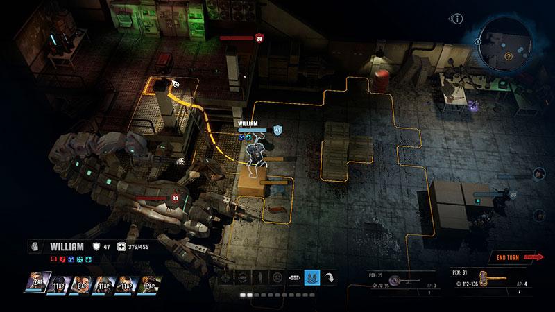 Wasteland 3 Battle Sequence